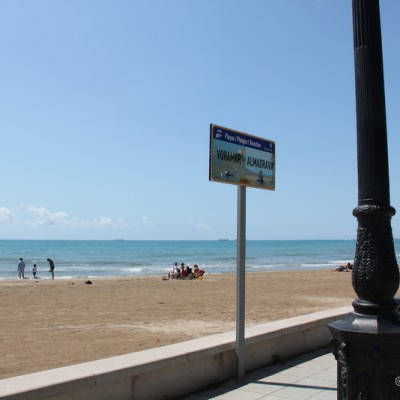 Benicassim beaches Spain