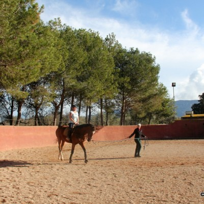 Ulldecona horse riding lesson 2