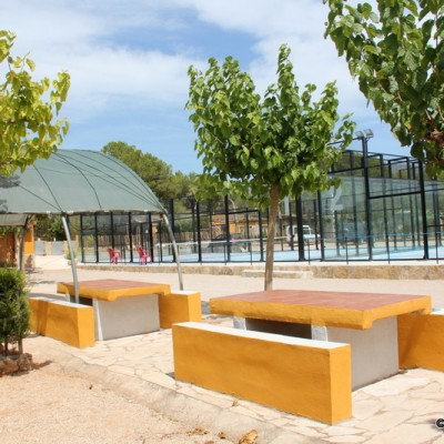 Masia Castell del Domenech Paddle Tennis & Views