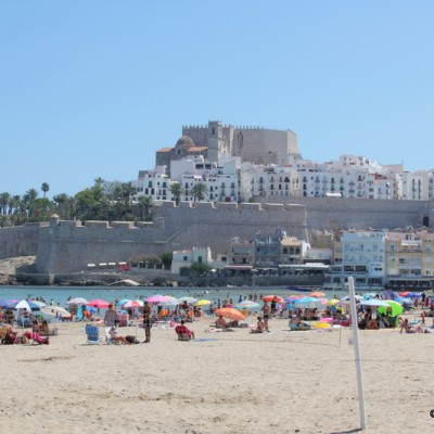 Peniscola Castle and Beach