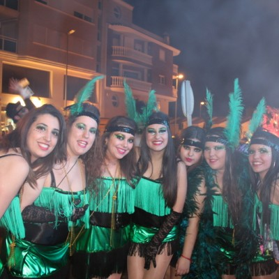 Pilar's Daughter and comparsa Vinaros carnival