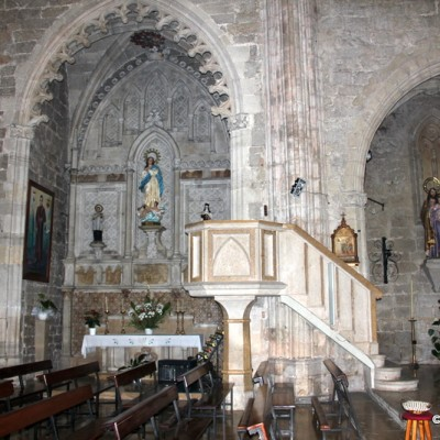 Ulldecona Church of St. Luke Interior