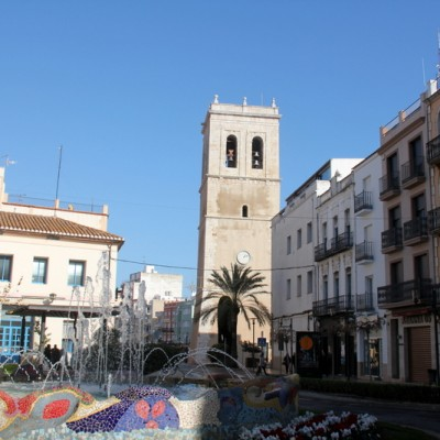 Vinaros Roundabout & Fountain Spain