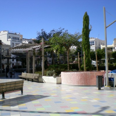 Vinaros Square Near Sea
