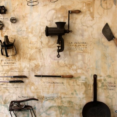 Carmen Guillemot Alcanar Old Cooking Tools On Wall