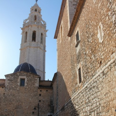 Alcala de Xivert Castellon Church View