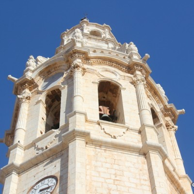 Alcala de Xivert Church Bell tower Saint John the Baptist