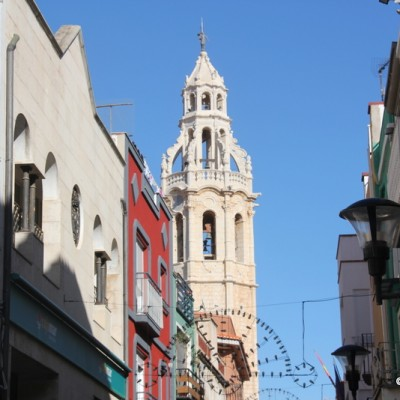 Alcala de Xivert Streets & View of Bell Tower