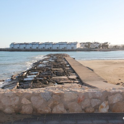 Beaches in Alcossebre Spain