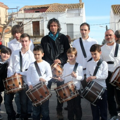 Drummer Sant Rafael del Riu St. Anthony Blessing of Animals 2015