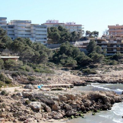 Salou Coast and Buildings
