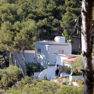 Salou House in Trees Near Penya Tallada