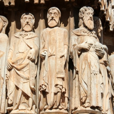 Tarragona Cathedral Stone Carvings