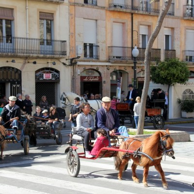 Festa Sant Antoni de Abad-Tres Tombs-Festival of Saint Anthony Abbot-Three Turns