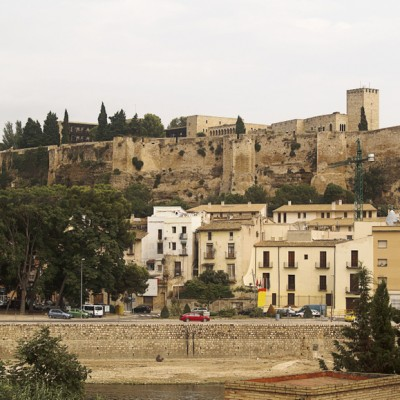 Tortosa Templar castle in Catalonia