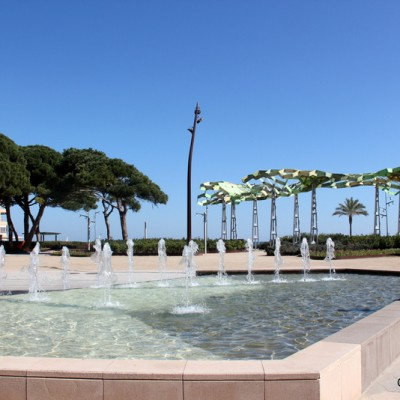 La Pineda Water Feature