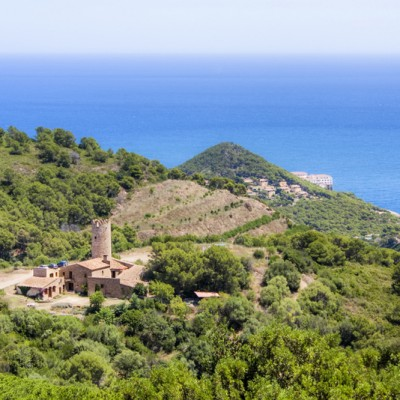 Begur Castle Views Costa Brava