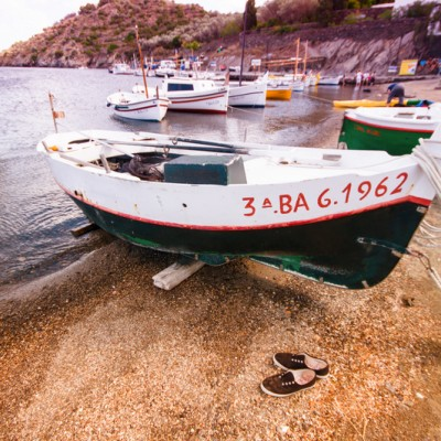 Cadaques Costa Brava Boats and Shoes July 2014 ed1