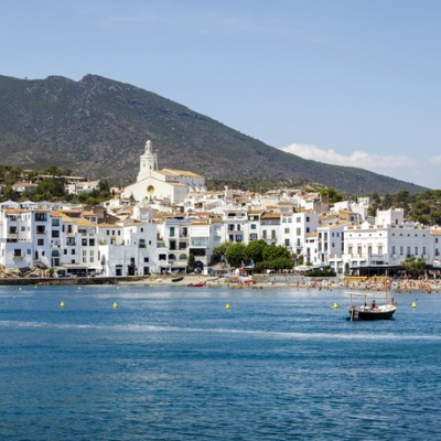 Cadaques Costa Brava View From The Sea