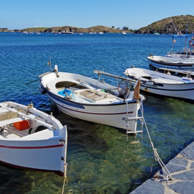 Cadaques Traditional Catalan Boats