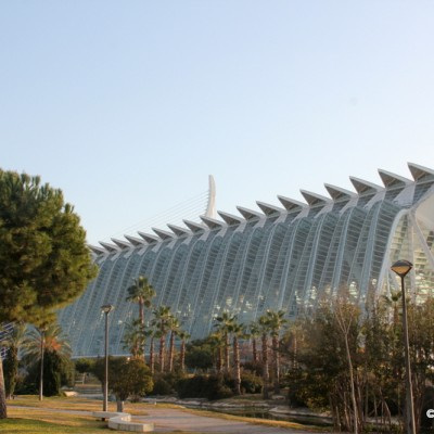 City of Arts and Science Valencia Spain