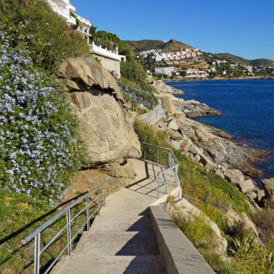 Roses Coastal Path Costa Brava Catalonia