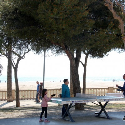 Tabletennis Vilanova i la Geltru Beach