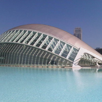 Valencia City of Arts and Sciences Spain