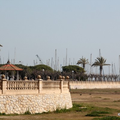Vilanova i la Geltru beaches in Spain