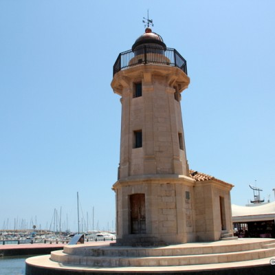 Lighthouse Grao de Castellon Spain
