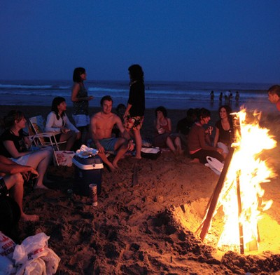 Gurugu Beach Bonfire Castellon