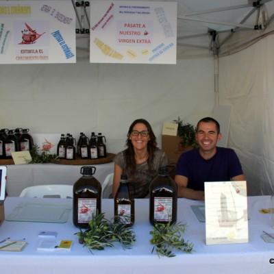 Olive Oil At San Rafael del Rio Artisan Market October 2014