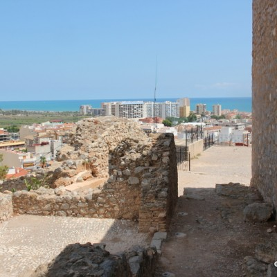 Oropesa Castle Views to Coast from Walls