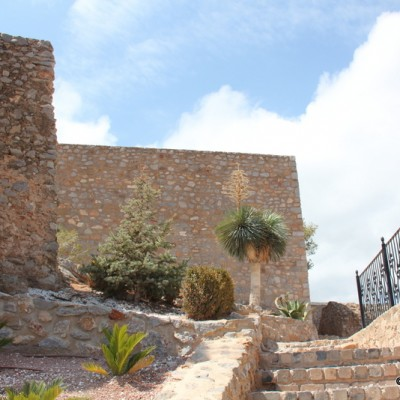 Oropesa del Mar Arab Castle Steps On The Way Up