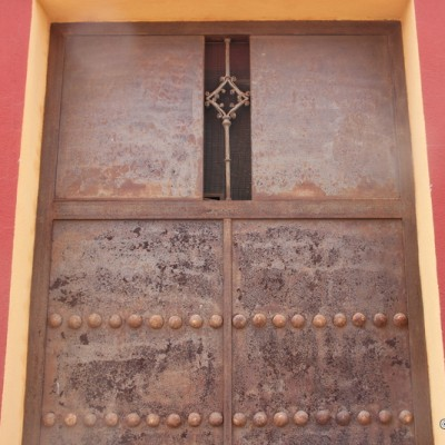 Oropesa del Mar Door Of Iron Museum