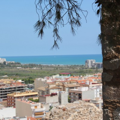 Oropesa del Mar Views to Sea from Castle
