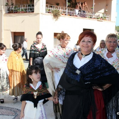 San Rafael del Rio Dancing in Costume to begin Artisan Market October 2014