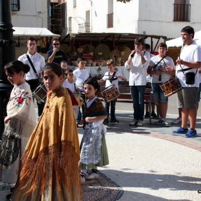 Sant Rafael del Riu Locals Dancing In Costumes to Launch Artisan Market
