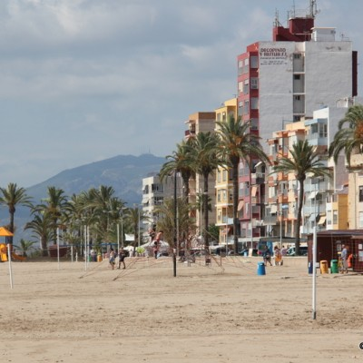 Torrenostra Beach Torreblanca View of Beach and Promenade