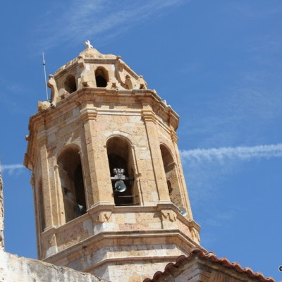 Traiguera Belltower of the Church of the Assumption