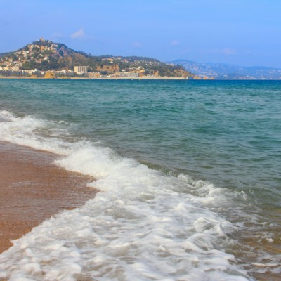 Blanes Beach Views Catalonia
