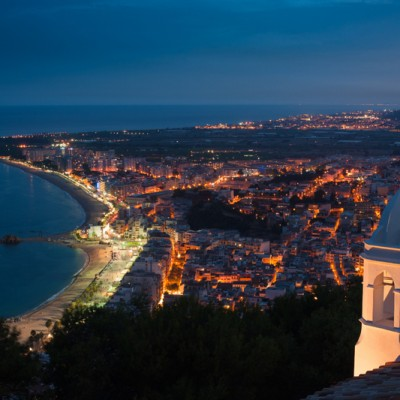 Blanes Costa Brava Night Lights View