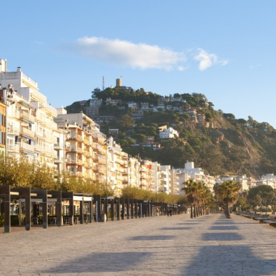 Blanes Promenade Early Morning