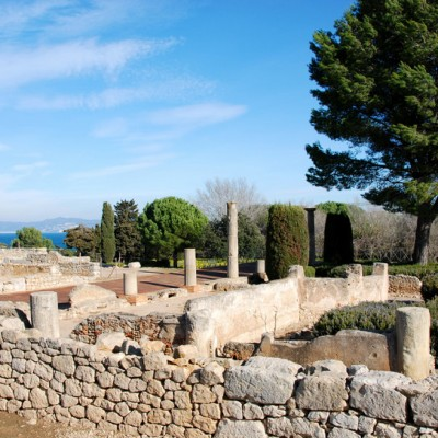Empuries Ruins Costa Brava Spain