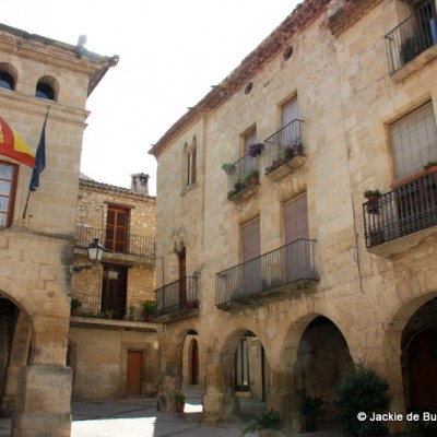 Horta de Sant Joan Town Hall and Square