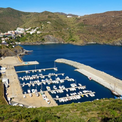 Portbou Bay and Marina