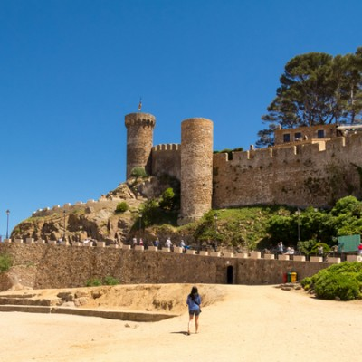 Tossa de Mar Castle Catalonia
