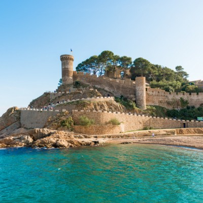 Tossa de Mar Medieval Castle At Sea ed4
