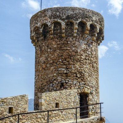 Tossa de Mar Tower Spain