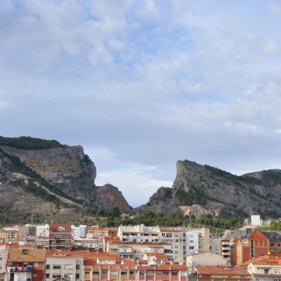 Alcoy Barranc Del Sinc Behind The Town